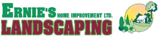 Ernie's Landscaping Logo